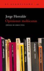 opiniones mohicanas-jorge herralde-9788495359469