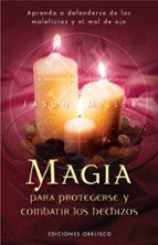 magia para protegerse y combatir los hechizos-jason miller-9788497774369