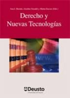 derecho y nuevas tecnologias (dvd)-aitziber emaldi cirion-ana isabel herran ortiz-9788498302769