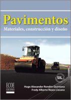 pavimentos (ebook) fredy reyes lizcano hugo rondón quintana 9789587711769