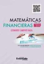 matemáticas financieras para las niif (ebook) leonardo sampayo naza 9789587900569
