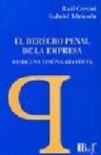 el derecho penal de la empresa desde una vision garantista: metod ologia, criteros de imputacion y tutela del patrimonio social r. cervini g. adriasola 9789974578463
