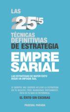 las 25'5 técnicas definitivas de estrategia empresarial (ebook)-pascual parada-cdlap00001969