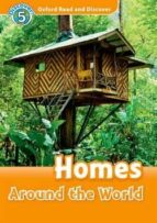 oxford read and discover 5 homes around world audio pack-9780194645379