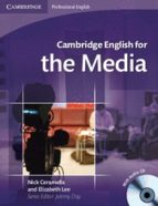 cambridge english for the media: student s book/audio cds (2)-mark ibbotson-9780521724579