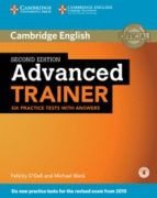 advanced trainer six practice tests with answers with audio (2nd ed.) 9781107470279