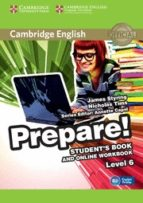 cambridge english prepare! 6 student s book and online workbook 9781107497979