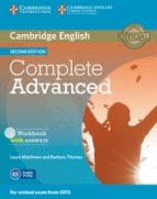 complete advanced workbook with answers with audio cd 2nd edition 9781107675179