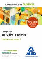 cuerpo de auxilio judicial de la administracion de justicia: temario (vol. 1)-9788414213179