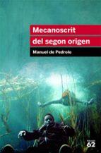 mecanoscrit del segon origen-manuel de pedrolo-9788415192879