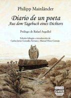 diario de un poeta-philipp mainlander-9788416032679