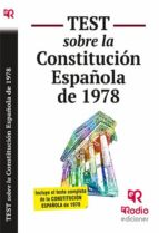 test sobre la constitución española-9788416266579