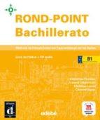 rond-point bachillerato b1+cd livre de l'élève-9788423699179
