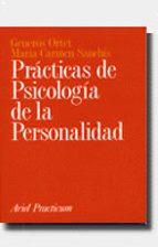 practicas de psicologia de la personalidad generos ortet 9788434428379