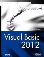 visual basic 2012 james d. foxall 9788441533479