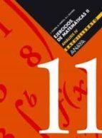 ejercicios de matematicas ii 2º bachillerato analisis iv (cuadern illo nº 11) 9788466722179