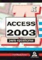 access 2003 para opositores-9788467622379