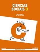 ciencias sociais 3. caderno.  segundo ciclo-9788467849479