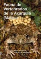 fauna de vertebrados de la axarquia (malaga)-rafael yus ramos-9788477859079