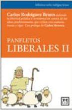 panfletos liberales ii (2ª ed) carlos rodriguez braun 9788483562079