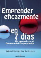 emprender eficazmente en 7 días (ebook)-gabriel hernandez guillamon-9788491157779