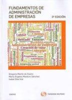 fundamentos de administracion de empresas (3ª ed.) gregorio martin de castro 9788491358879
