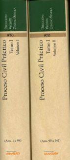 proceso civil práctico. tomo i.volumen i y ii (papel + e-book)-josé vicente gimeno sendra-9788491527879