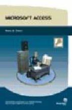 microsoft access. bases de datos-9788496256279