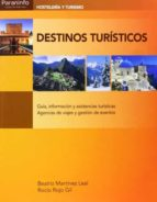 destinos turisticos beatriz martinez leal rocio rojo gil 9788497329279