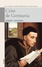 crim de germania josep lozano lerma 9788498240979