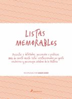 listas memorables shaun usher 9788498387179