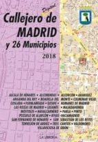 callejero de madrid y 26 municipios 2018-9788498733679