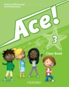 ace 3 course book  & songs cd pk 9780194007689