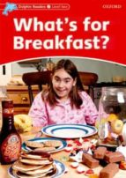 what´s for breakfast? (dolphin readers 2) 9780194400589