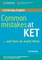 common mistakes at ket...and how to avoid them-liz driscoll-9780521692489