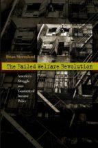 the failed welfare revolution (ebook)-brian steensland-9781400837489