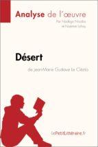 désert de jean-marie gustave le clézio (analyse de l'oeuvre) (ebook)- lepetitlittéraire.fr-9782808004589