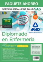 paquete ahorro diplomado en enfermería del servicio andaluz de salud (incluye temario común y test; temarios específicos-9788414201589