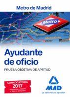ayudante de oficio metro de madrid prueba objetiva de aptitud 9788414205389