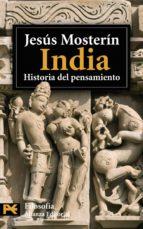 india: historia del pensamiento-jesus mosterin-9788420661889