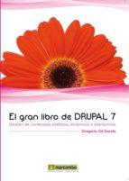 el gran libro de drupal 7-gregorio gil garcia-9788426717689