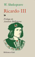 ricardo iii william shakespeare 9788441402089