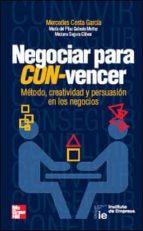 negociar para con-vencer-mercedes costa garcia-9788448129989