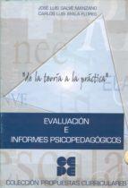 evaluacion e informes psicopedagogicos (incluye cd)-jose luis galve manzano-carlos l. ayala flores-9788478693689