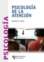 psicologia de la atencion elizabeth a. styles 9788480049689