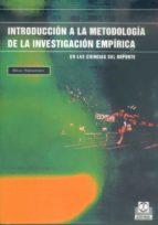 introduccion a la metodologia de la investigacion empirica en las ciencias del deporte klaus heinemann 9788480196789