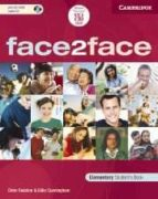 face2face: elementary student s book with cd-rom-gillie cunningham-chris redston-9788483233689