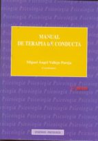 manual de terapia de conducta tomo i 9788490310489