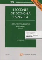 civitas: lecciones de economía española (13ª ed)-jose luis garcia delgado-9788491528289