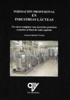 formacion profesional en industrias lacteas-antonio madrid vicente-9788494516689